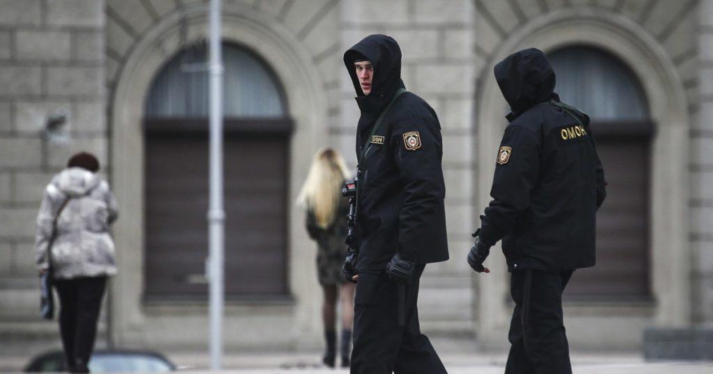 Weißrussland verhaftet Dutzende nach KGB-Schießereien, sagt führende Menschenrechtsgruppe