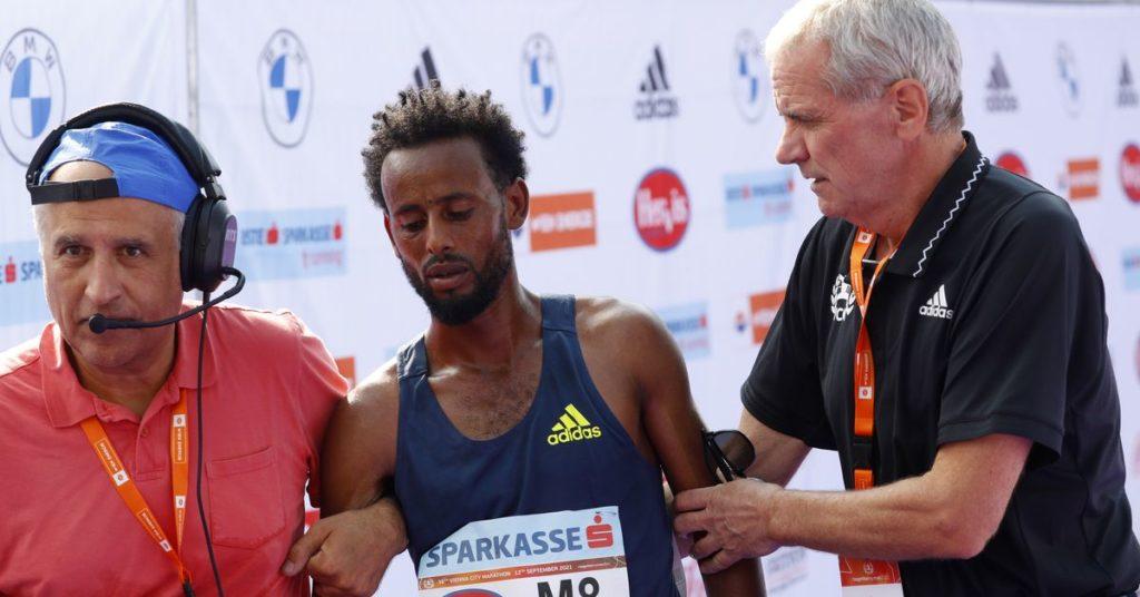 Wien-Marathon-Sieger disqualifiziert, weil Schuhsohlen gegen die Regeln verstoßen haben